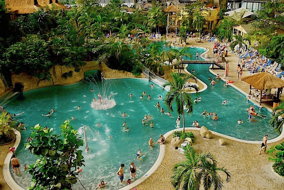 Tropical Islands - Wasserwelten, Palmen, Strand & Tropenfeeling - Brandenbur