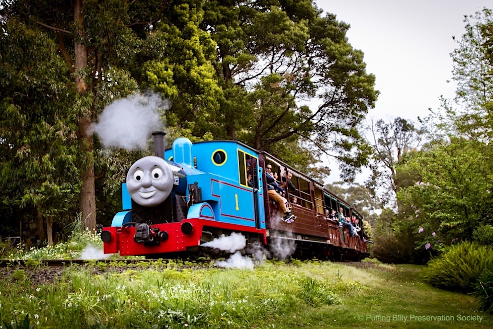 Puffing Billy Railway - Thomas: historische Dampflok für Kinder Events - Victoria
