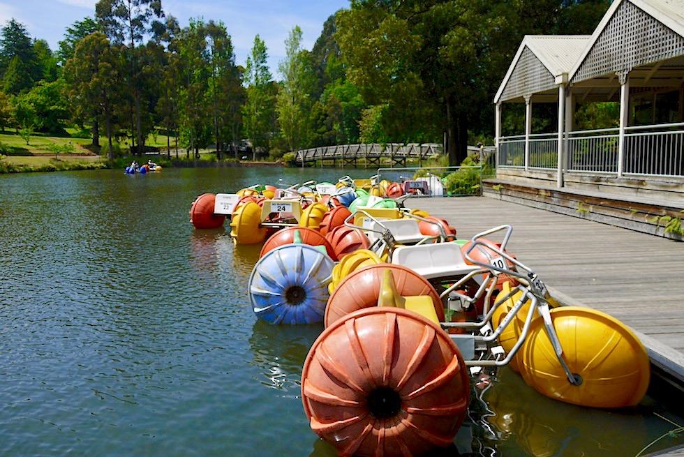 Emerald Lake Park bei Melbourne: beliebtes Naherholungsgebiet - Victoria
