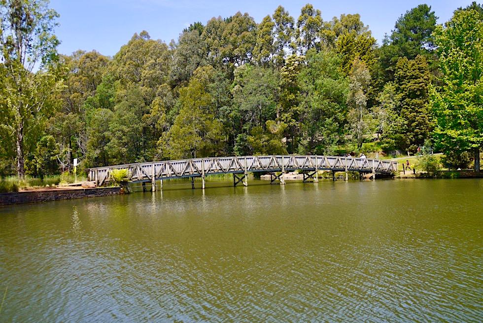 Lakeside - Wunderschöner Emerald Lake Park - Naherholungsgebiet Melbourne - Victoria