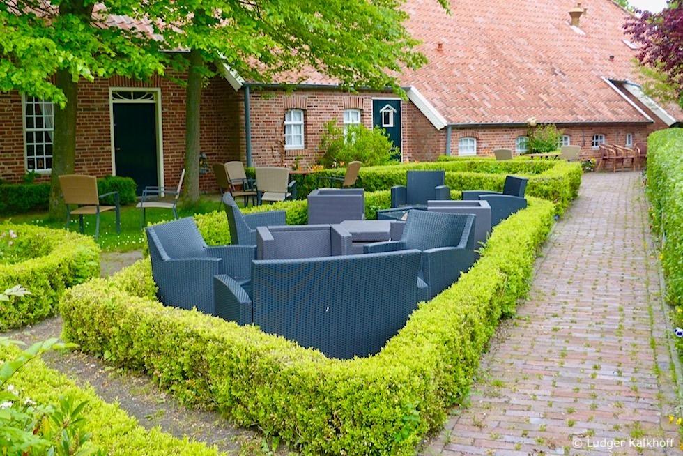 Landhaus Rysumer Plaats: Chillen bei Tee, Kaffee und Kuchen - Krummhörn - Ostfriesland