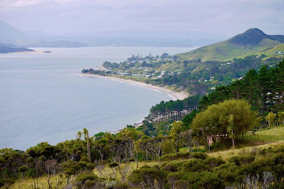Hokianga Harbour & Ausblick auf den riesigen natürlichen Hafen, Omapere & Opononi - Northland - Nordinsel Neuseeland