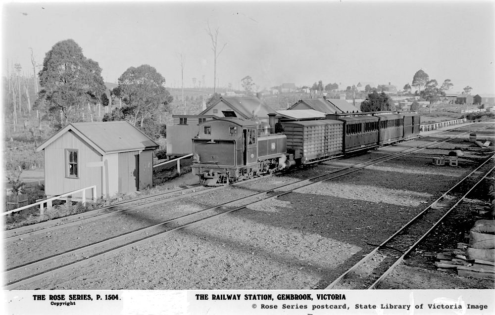 Postcard Gambrook Schmalspurbahn - Historische Aufnahme - Victoria
