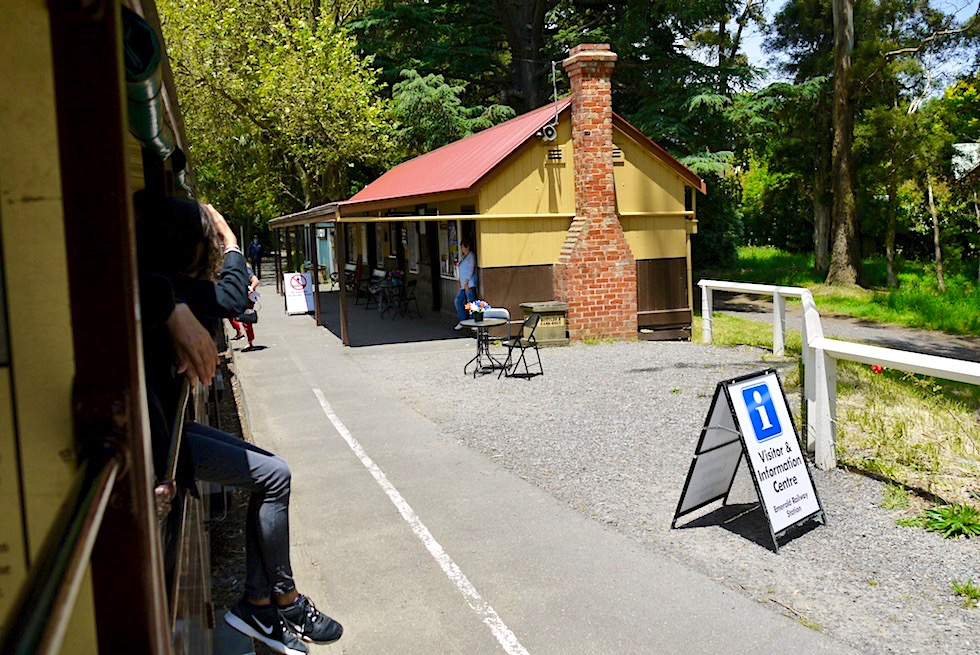 Puffing Billy: historische Dampflokomotivenfahrt - Emerald Railway Station - Melbourne, Victoria