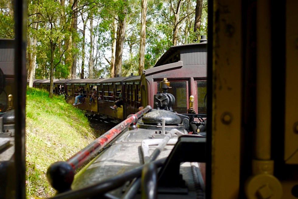 Puffing Billy: Mit der historische Schmalspurbahn durch die Dundenong Ranges - ein Melbourne Highlight - Victoria