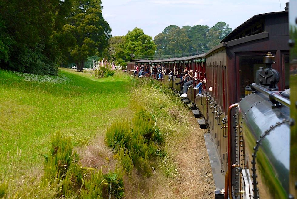 Puffing Billy Museumsbahn - Beliebter Tagesausflug & eines der Highlights von Melbourne - Victoria