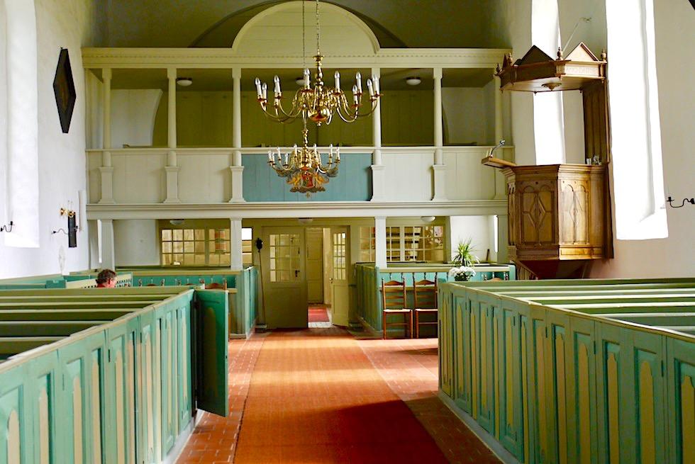 Warfendorf Rysum - Kirche von Innen - Krummhörn - Ostfriesland