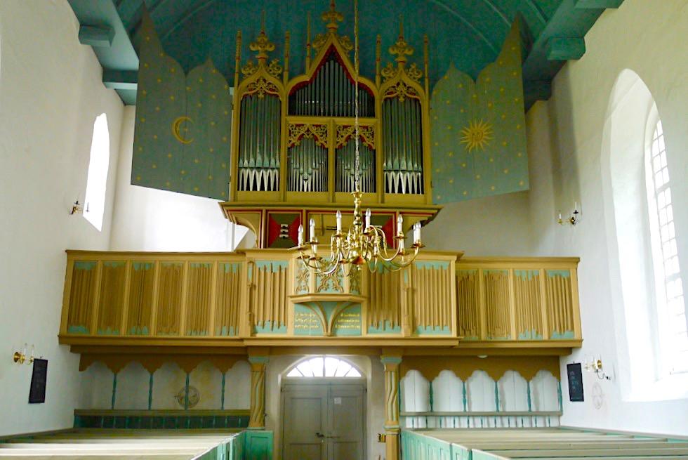 Kulturerbe Rysumer Orgel - Eine der ältesten, bespielbaren Orgeln weltweit - Orgellandschaft Krummhörn - Ostfriesland