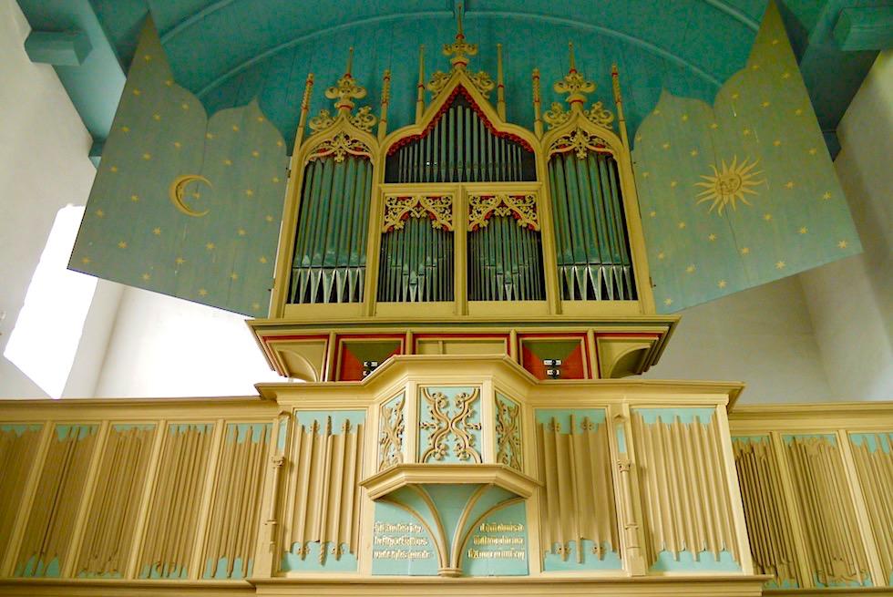 Rysumer Orgel von 1457: eine der ältesten, noch bespielbaren Orgeln weltweit - Orgellandschaft Krummhörn - Ostfriesland