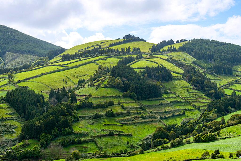 Aqua Retorta - das grüne Umland der Südostküste von Sao Miguel - Azoren