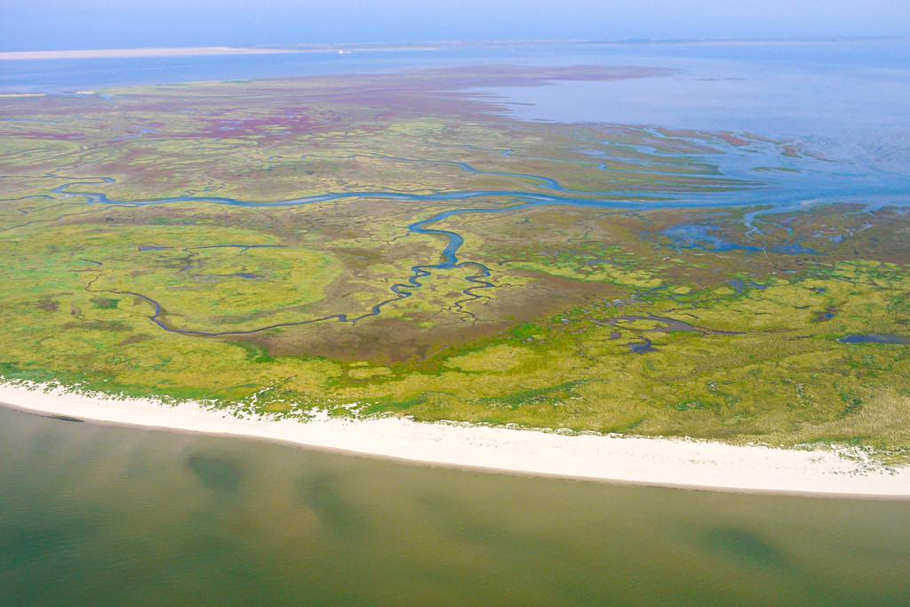 Wunderschön & unbewohnt: Nordseeinsel Memmert aus der Vogelperspektive gesehen - Ostfriesische Inseln