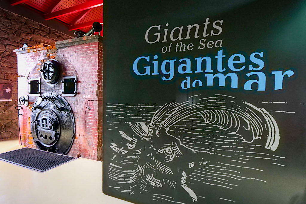 Alte Walfangfabrik & heutiges Museum erzählt Geschichte des Walfangs & der Walfänger - Lajes do Pico - Azoren