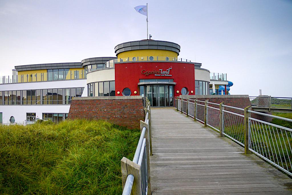 Borkum - Erlebnisbad Gezeitenland bietet Badevergnügen, Wellness, Spa & Thalasso-Anwendungen - Ostfriesische Inseln