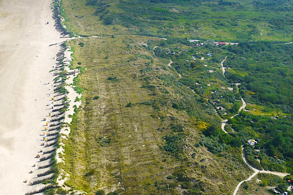 Gelassenheit und Ruhe findet der Besucher am Nordstrand von Borkum - Ostfriesische Inseln