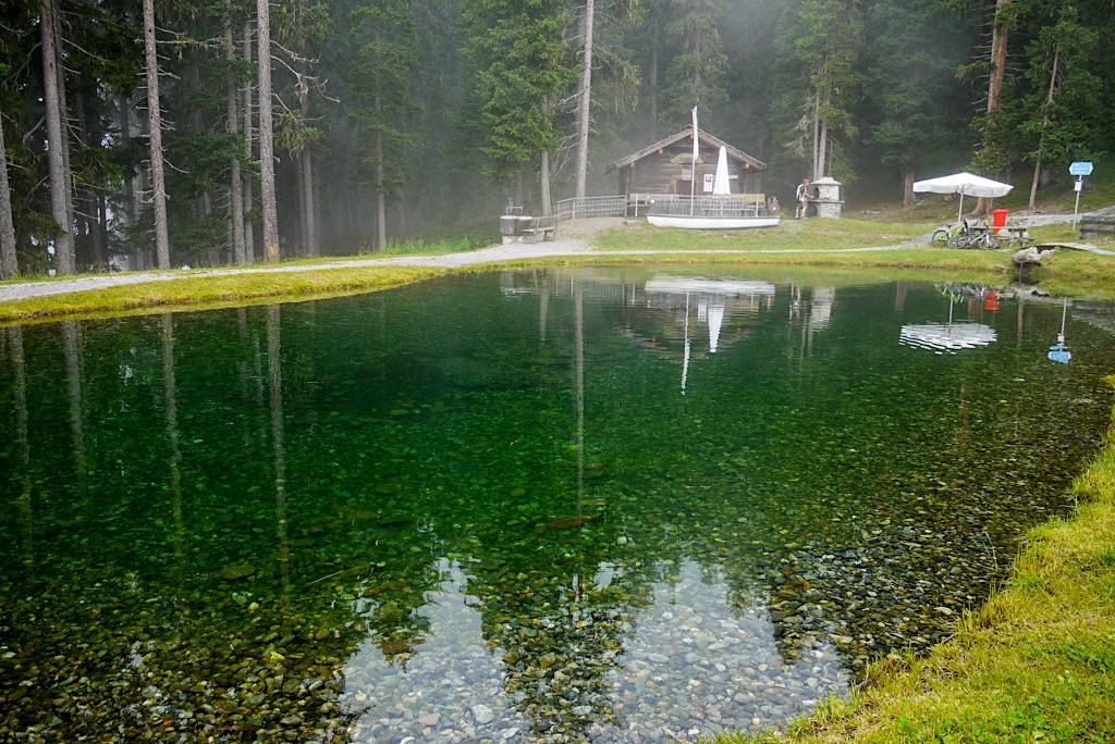 Auf dem Weg zur Diasbahn - kleiner See - Kappl -Österreich