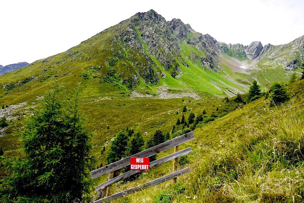 Wanderung Kieler Weg zur Niederelbehütte - Verwall-Gebirge im Paznaun - Österreich