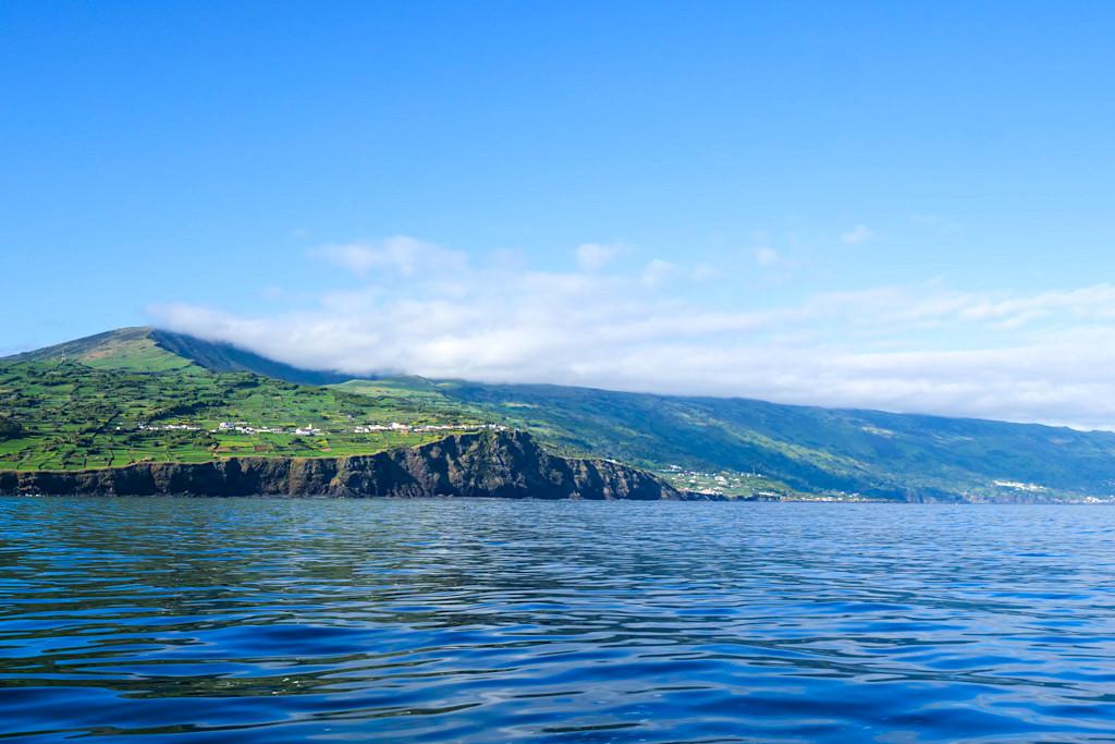 Südküste von Pico ist ein hervorragendes Revier für vielversprechende Walbeobachtungen - Azoren