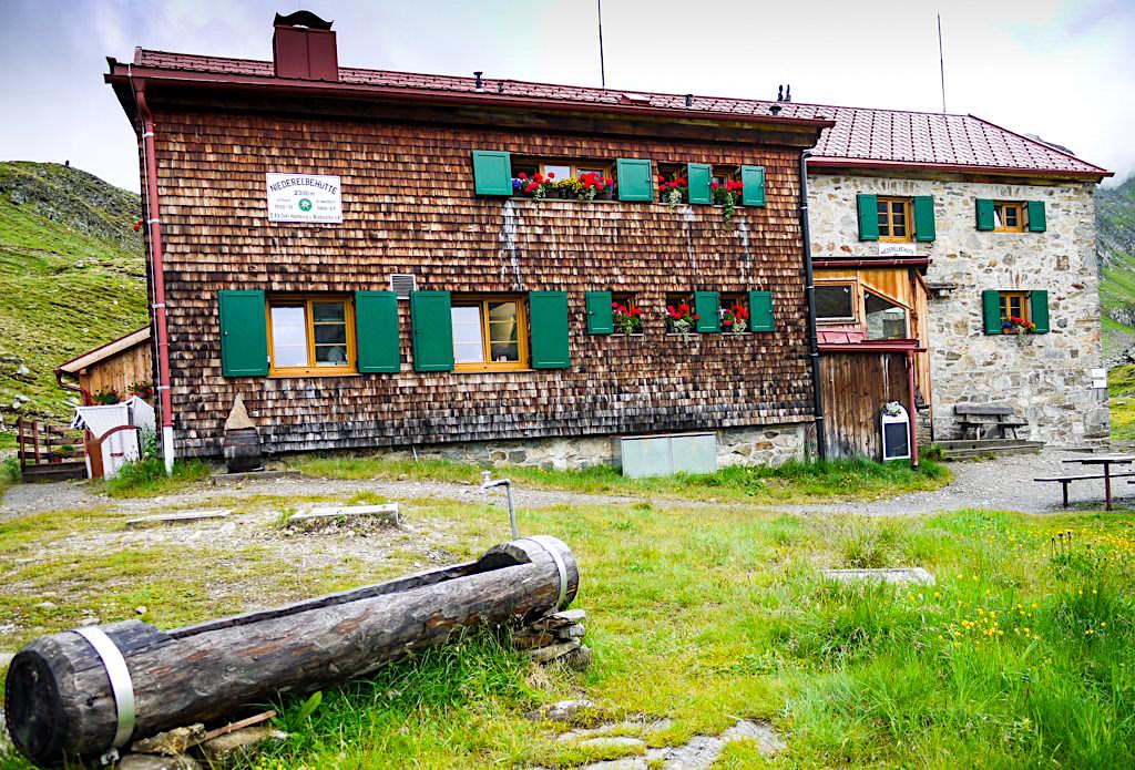 Einsam & idyllisch gelegene Niederelbehütte in der Verwall-Gruppe - Paznaun - Österreich