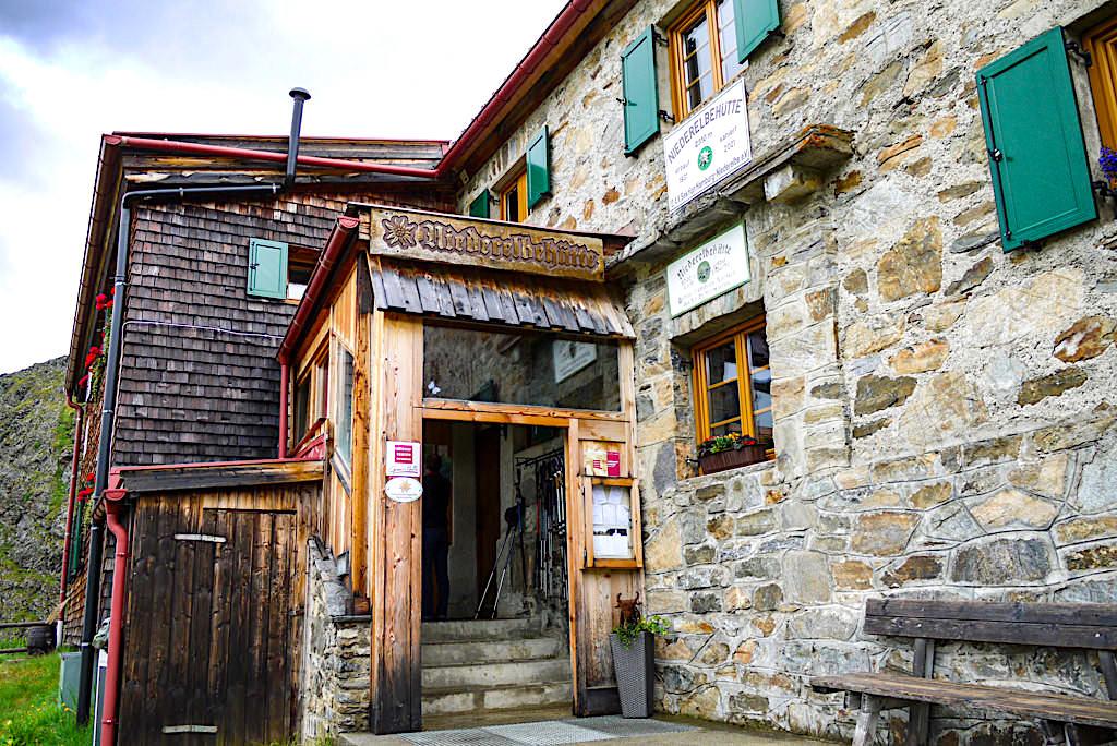 Niederelbehütte - Schutzhütte auf der Verwall-Runde - Paznaun - Österreich