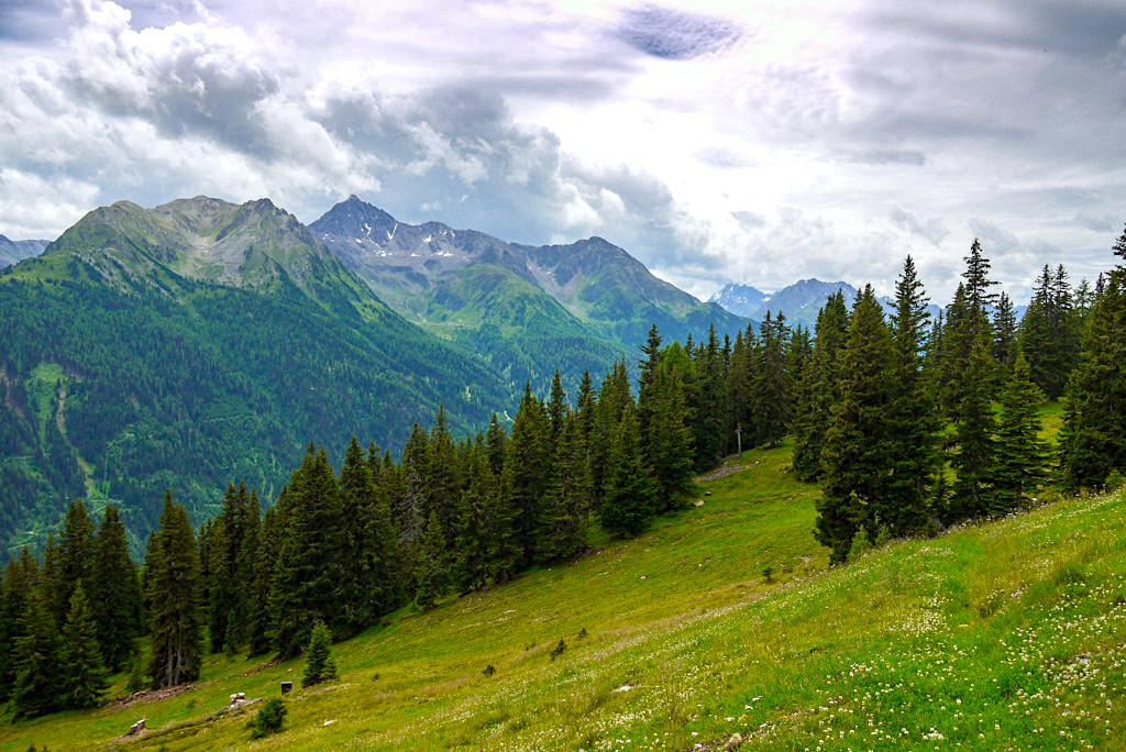 Niederelbehütte Rund-Wanderung mit faszinierendem Ausblick auf die Samnaungruppe & Silvretta - Paznaun - Österreich