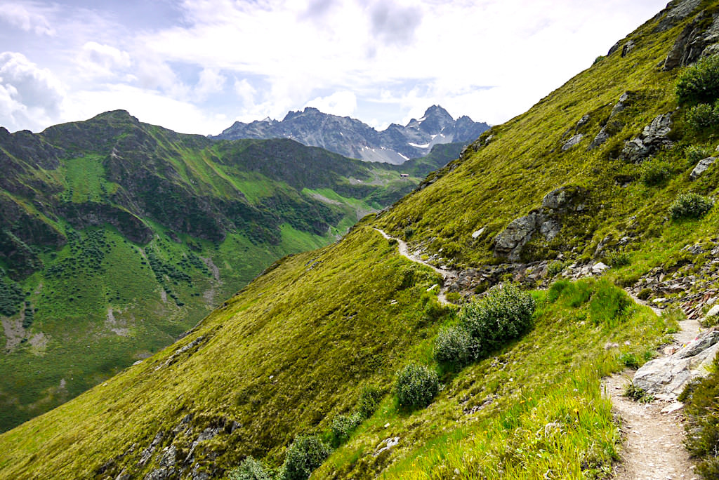 Von Kappl zur Niederelbehütte - Leichte Rund-Wanderung mit grandiosen Ausblicken - Paznaun - Österreich