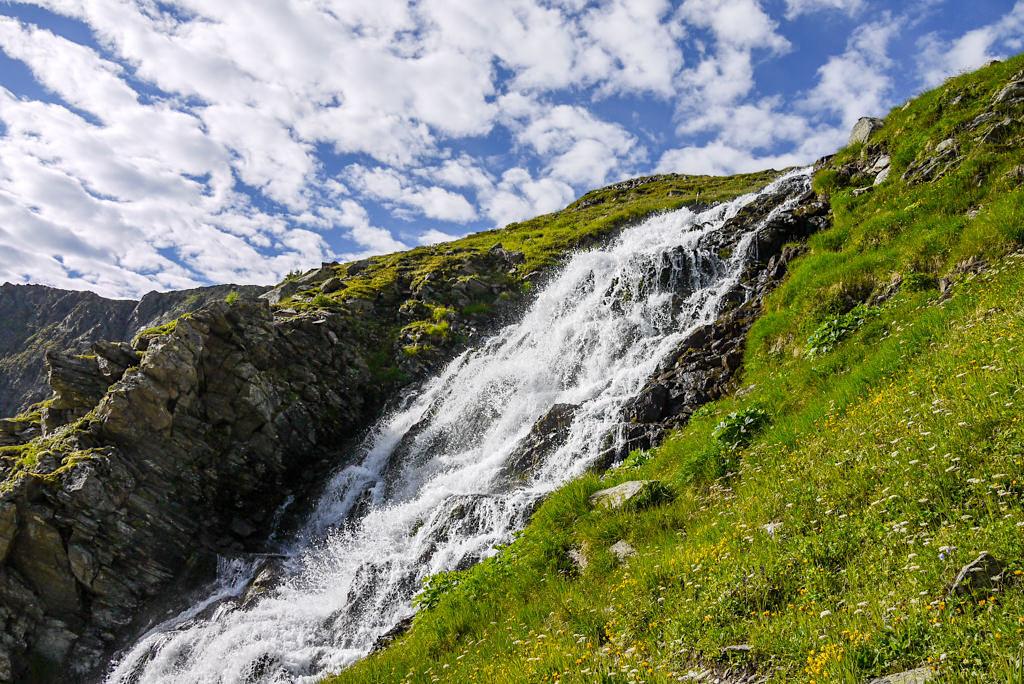 Sessladbach bei der Niederelbehütte - Wanderung im Verwall - Paznaun - Österreich