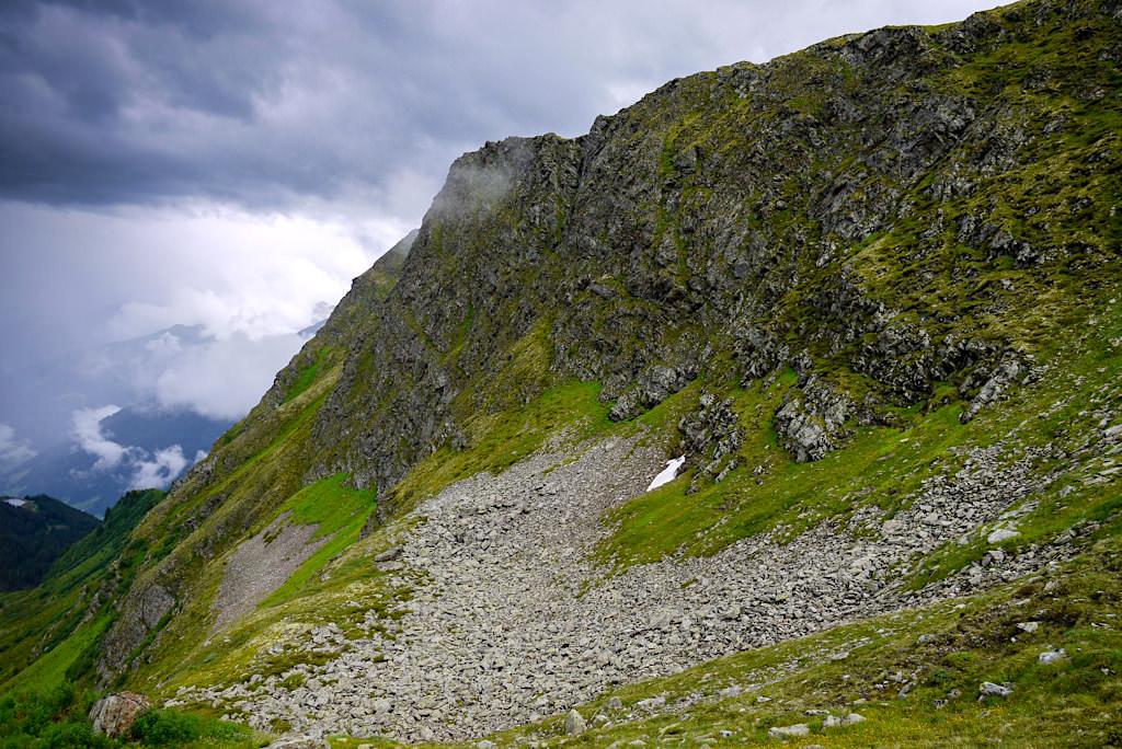 Gewitterstimmung unterhalb der Niederelbehütte - Verwall-Gruppe im Paznaun - Österreich