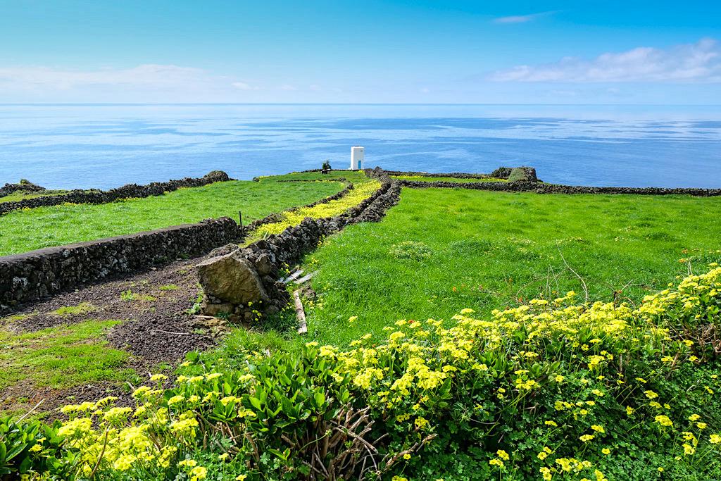 Vigia da Queimada - Typischer Walbeobachtungsposten bei Lajes auf Pico - Azoren