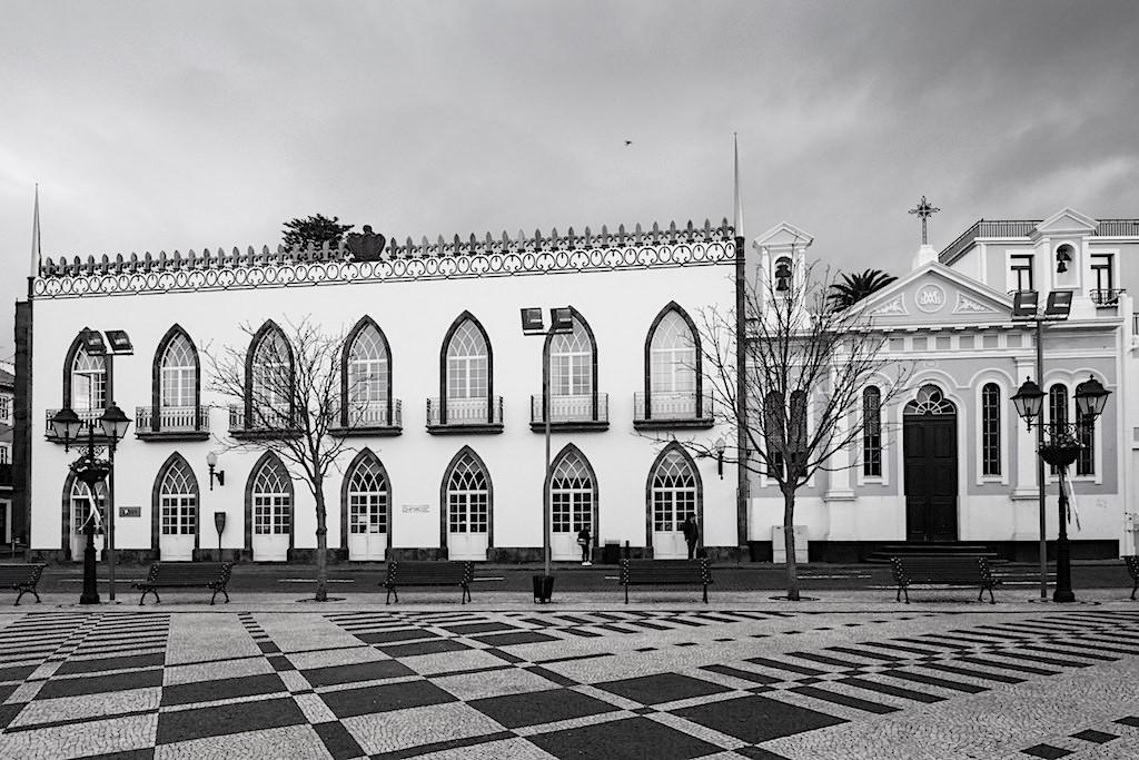 Angra do Heroismo - Rathausplatz - Die heldenhafte Geschichte von Terceira & Loyalität - Azoren