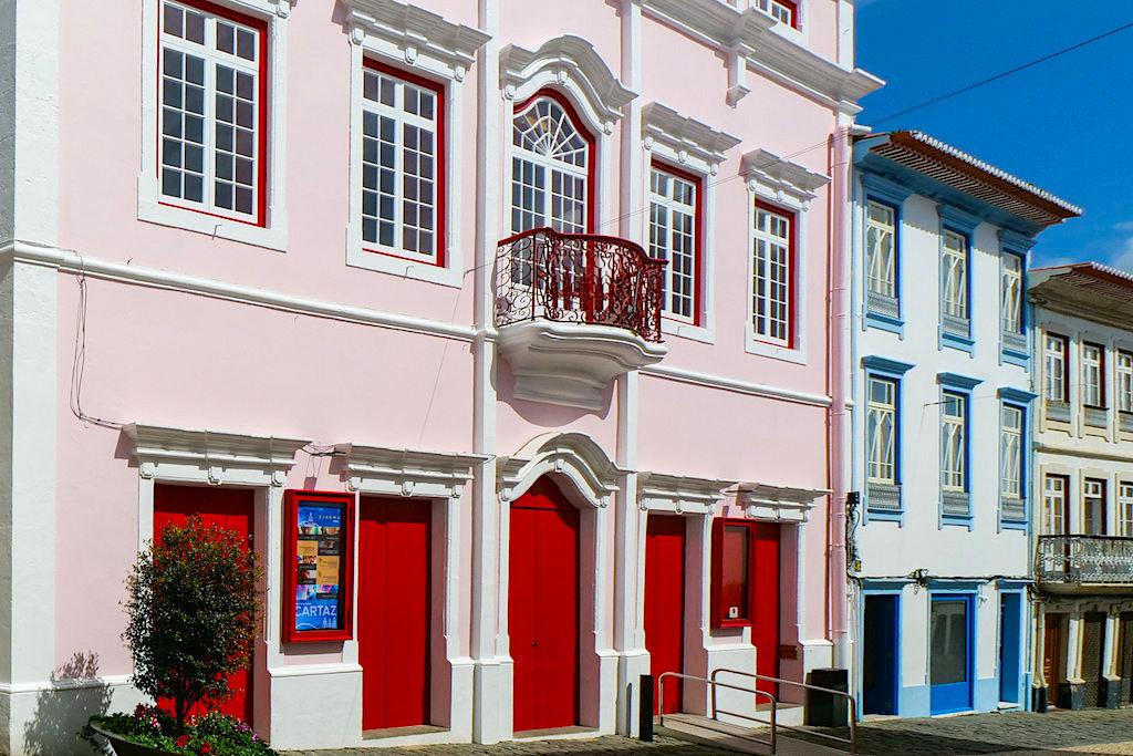 Angra do Heroismo - Wunderschön restauriertes Prunkhaus & Theater - Terceira - Azoren