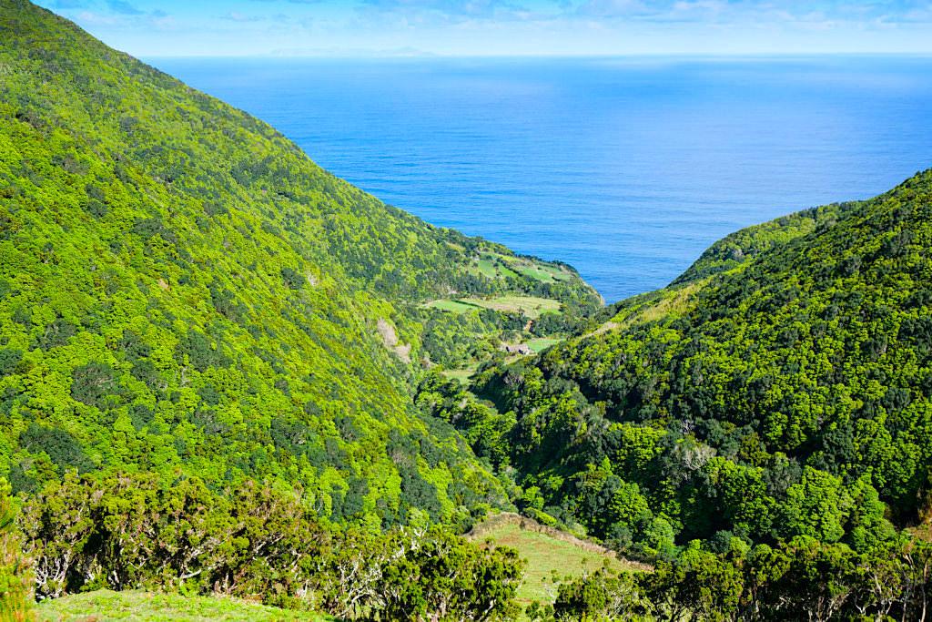 Caldeira da Cima - Aufgegebener Weiler - Sao Jorge - Azoren