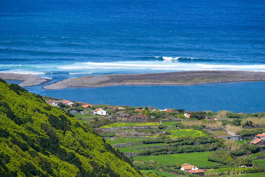 Faja da Caldeira de Santo Cristo - Schönste Faja auf Sao Jorge, die nur wandernd erreichbar ist - Azoren