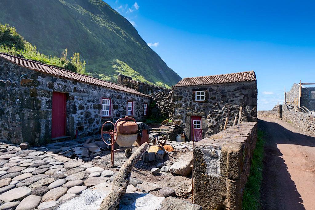 Auch hier entstehen mehr Ferienwohnungen: Faja do Belo - Sao Jorge - Azoren