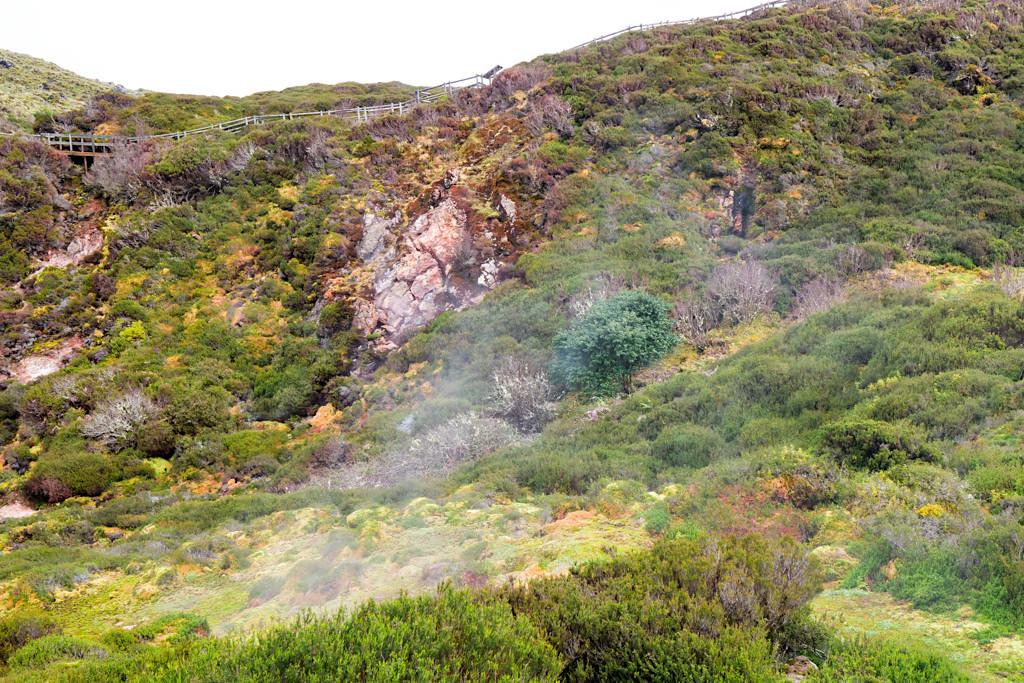 Furnas do Enxofre - Dampfende Schwefelquellen sind Zeugen von Vulkanaktivitäten inmitten Terceiras - Azoren