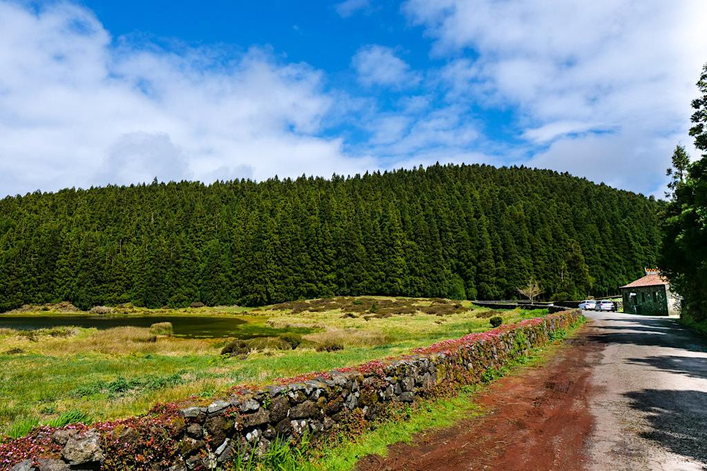 Gruta do Natal & Lagoa Negro befinden sich im Naturschutzgebiet von Santa Barbara - Terceira - Azoren