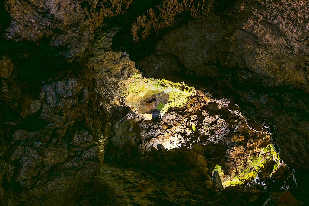 Gruta do Natal oder Weihnachtshöhle - Lavahöhle auf Terceira - Azoren
