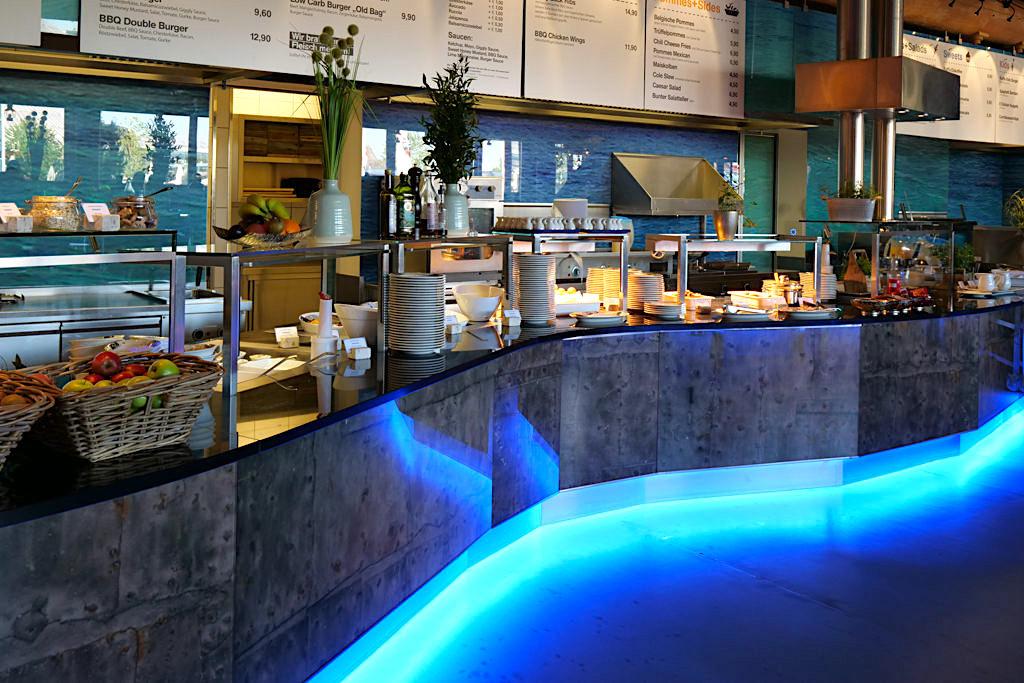 Hotel Victory in der Therme Erding - Vielseitiges, leckeres Frühstücksbuffet - Bayern