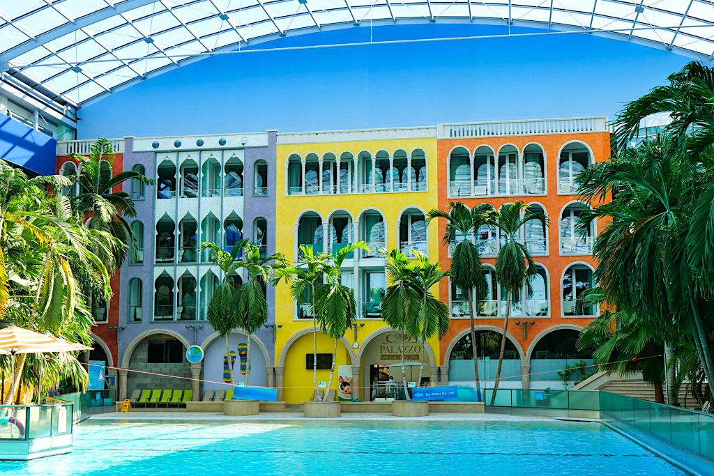 Hotel Victory in der Therme Erding - Venezianischer Palazzo mit Serenissima Zimmer - Bayern