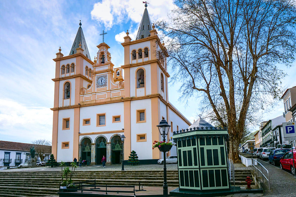 Igreja do Santissimo Salvador da Sé - Berühmte Kathedrale & Kiche von Angra do Heroismo - Terceira - Azoren