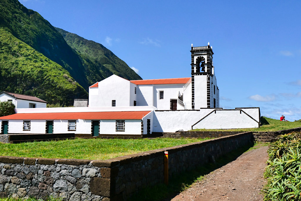 Kirche von Faja da Caldeira de Santo Cristo - Sao Jorge - Azoren
