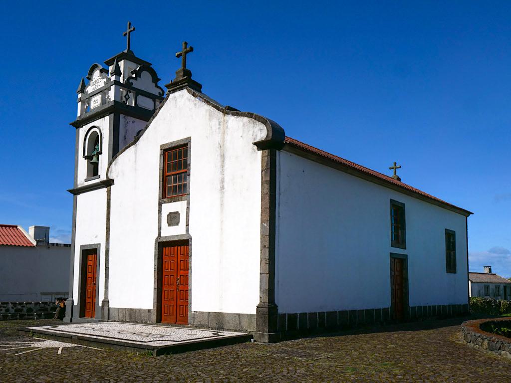 Kirche in Faja dos Cubres - Sao Jorge, Azoren