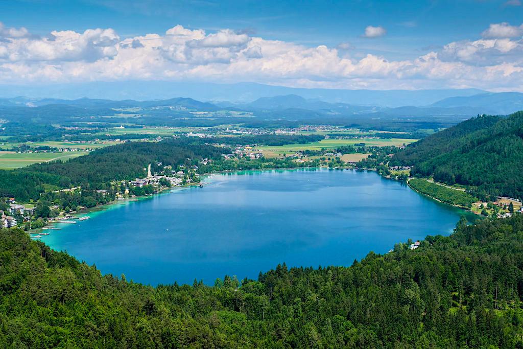 Slow Trail Kitzelberg: Faszinierender Gipfel-Ausblick auf Klopeiner See, schöner geht nicht! - Kärnten, Österreich