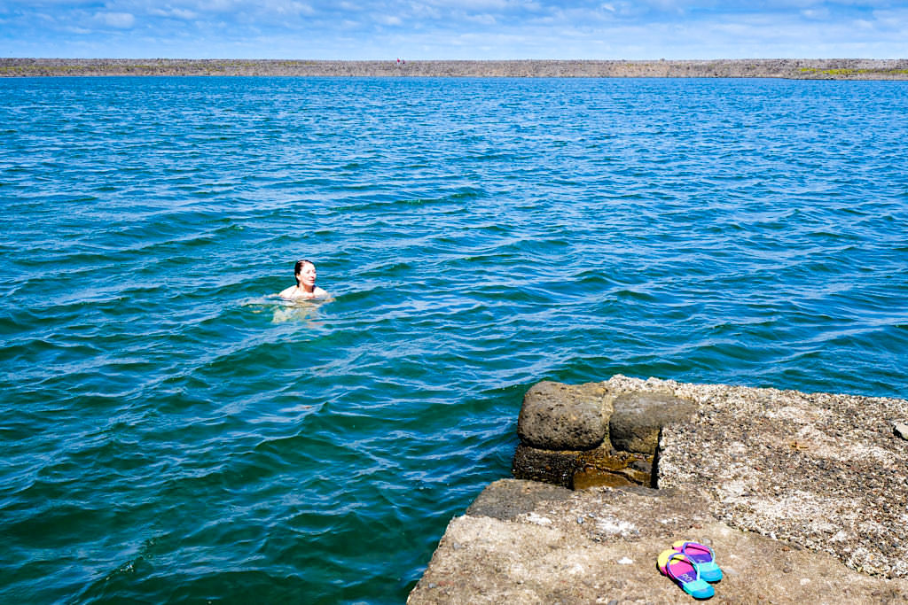 Lagoa da Faja da Caldeira de Santo Cristo - Sao Jorge - Azoren