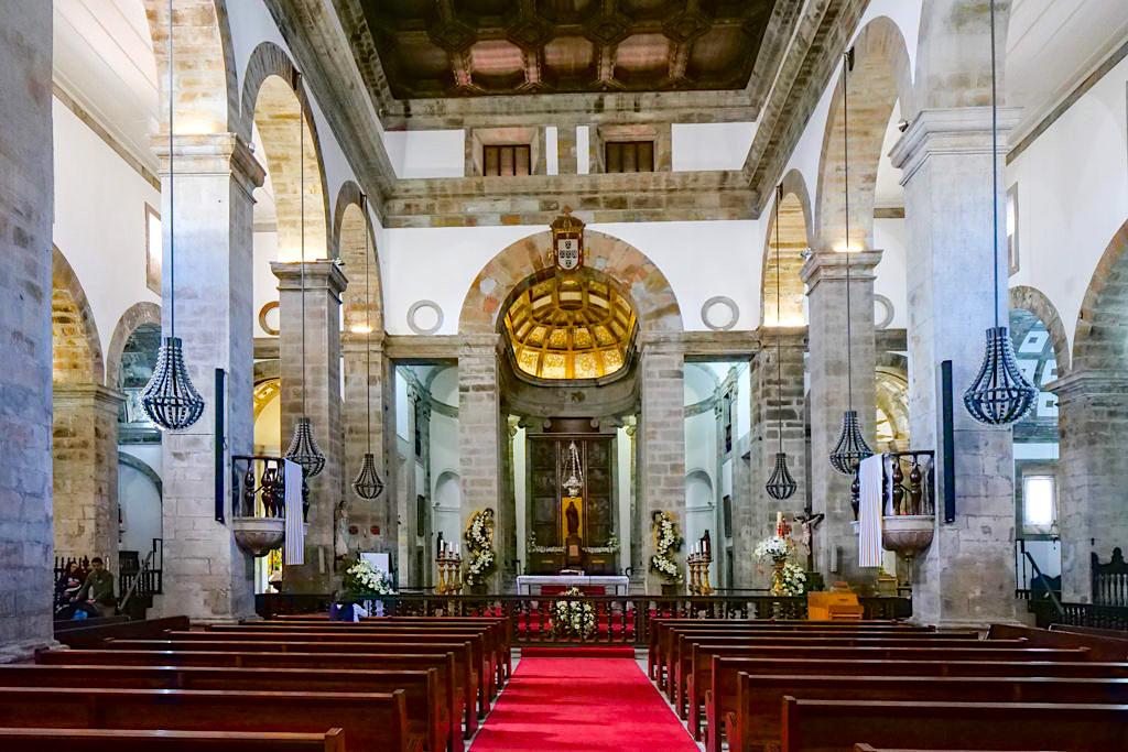 Santissimo Salvador da Sé - Das Innere der größten Kirche & Bischofsitz- Tercreira - Azoren