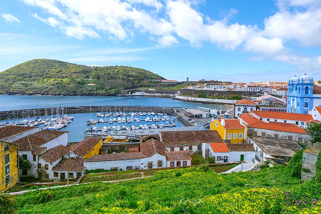 Die besten Aussichtspunkte und Lookouts mit den schönste Ausblicken auf Angra do Heroismo - Terceira - Azoren