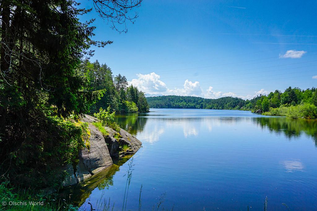 Slow Trail Wörthersee - durch die faszinierende Römerschlucht zum idyllischen Forstsee - Kärnten, Österreich