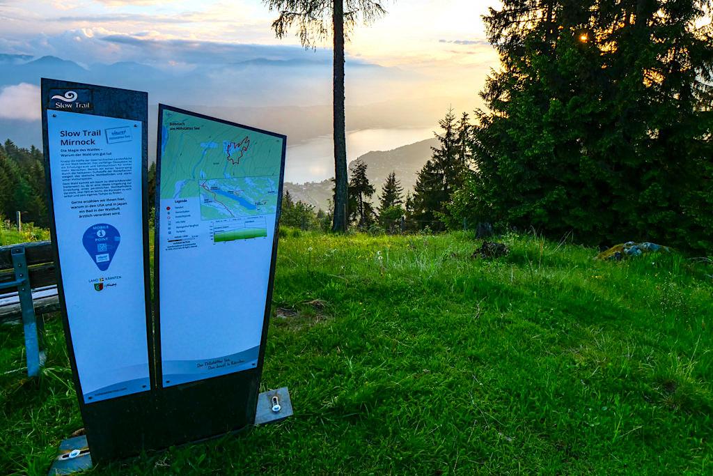 Slow Trails Kärnten - Mobile Points kontraproduktiv zum Gedanken der Slow Trails - Kärnten in Österreich