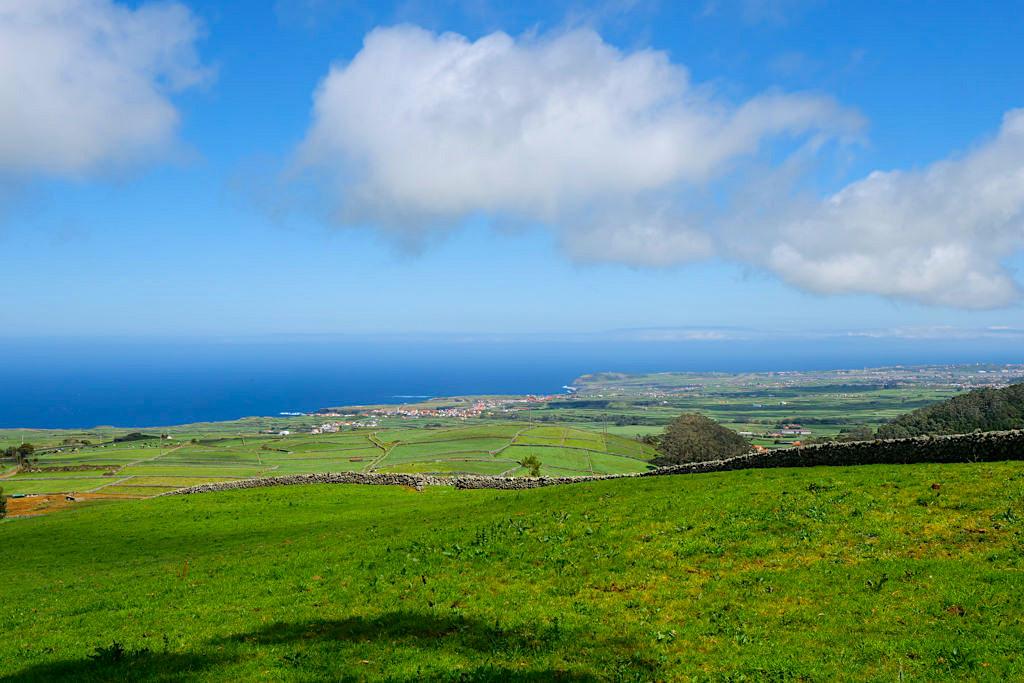 Terceira - Faszinierender Ausblick auf die Nordküste der Azoren-Insel