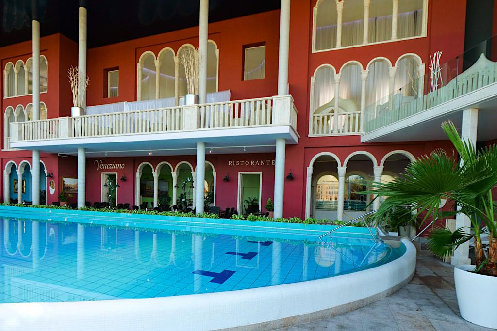 Therme Erding - Das Royal Day Spa bieten Suiten & RelaxOasen über dem Palazzo Veneziano - Bayern