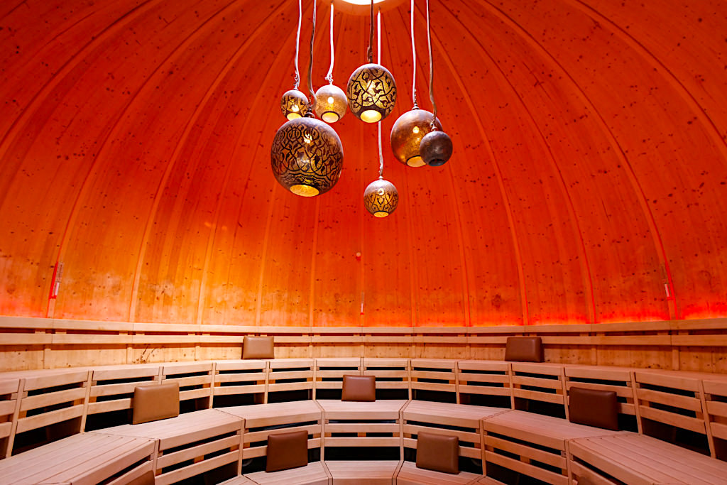 Therme Erding - VitalOase: Kuglus Sauna - Bayern